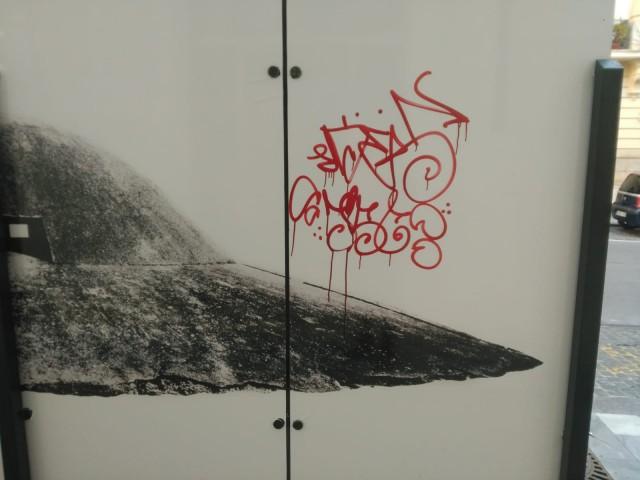 El vandalisme en Alcoi no entén d'art