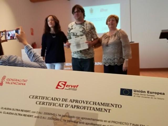 10 alumnes conclouen el primer taller de formació i ocupació de Cocentaina T'Avalem,'Descobrint l'entorn'