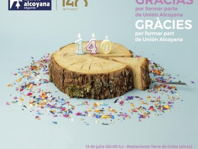 140 aniversari de la Unión Alcoyana