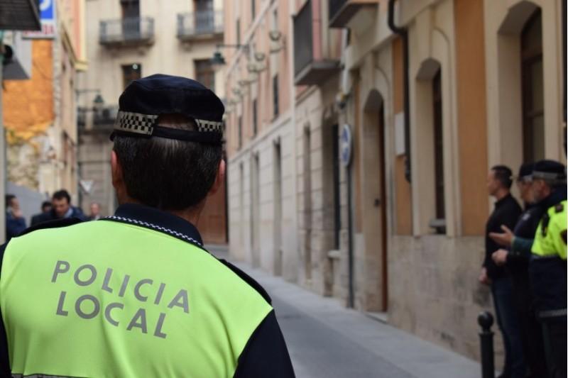Part de la policia local per al 16 de gener a Alcoi. Imatge d'arxiu