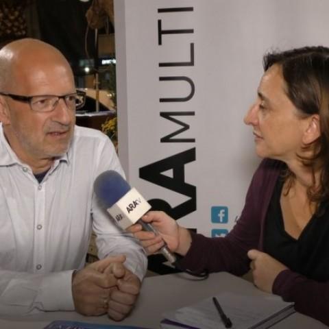 Josep Vicent Torregrosa a la Fira