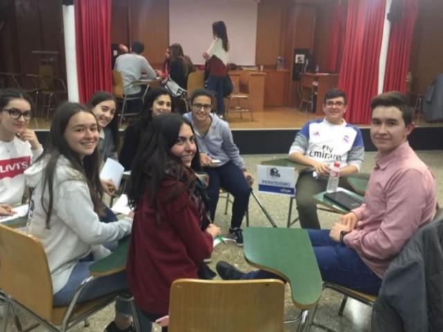 Alguns dels alumnes que s'han interessat pel Periodisme / AM