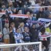 Aficionats en el partit contra l'Ebro