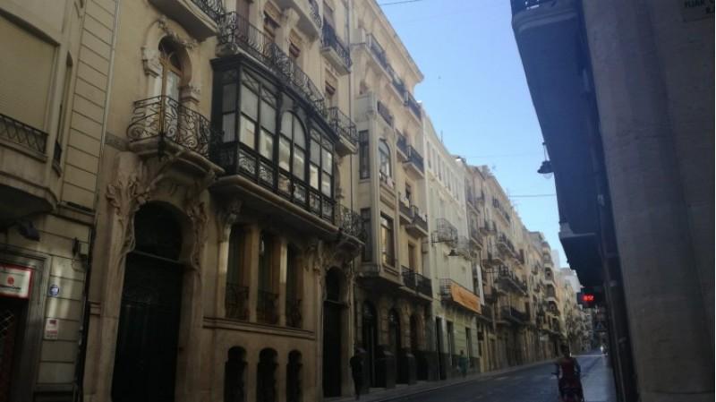 El carrer Sant Nicolau, una de les zones on l'any passat es va invertir diners per a rehabilitar i fe r visitable patrimoni