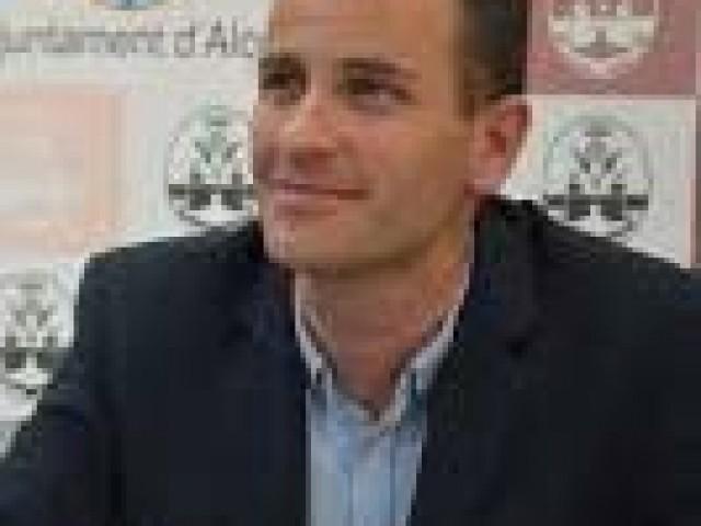 El regidor d'educació ALberto Belda/AM
