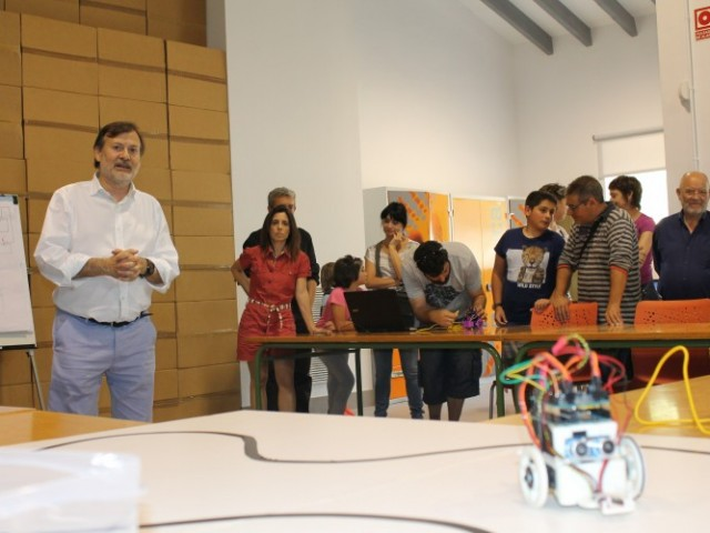El regidor Manolo Gomicia també va estar a un dels cursets de l'edició de 2016 / Ajuntament d'Alcoi