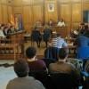 Un moment del plenari d'abril a Alcoi/AM