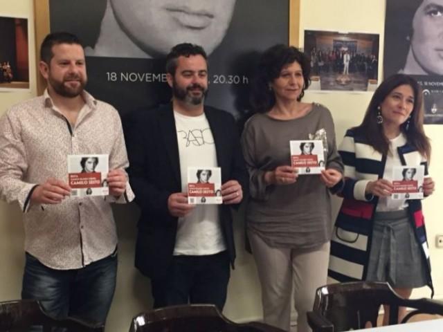 Gilberto Molina, Raül Llopis, Ángeles Llorens i Lorena Zamorano han presentat la ruta / R. Lledó
