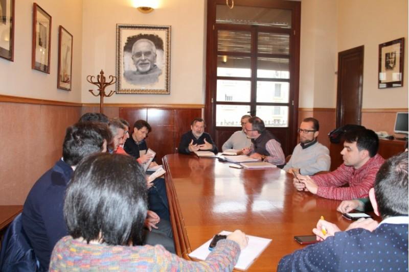 Reunió de la comissió d'arbitratge de l'ordenança de terrasses/Aj