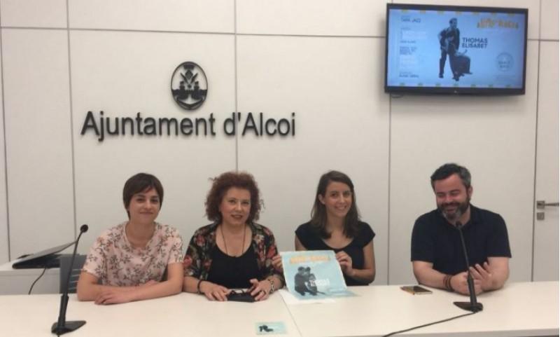 Maria Baca, Àngels Ferrer, Pilar Molina i Raül Llopis presenten el festival d'estiu / R. Lledó