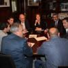 Reunió per aconseguir un nou parc de bombers forestals / Ajuntament d'Alcoi
