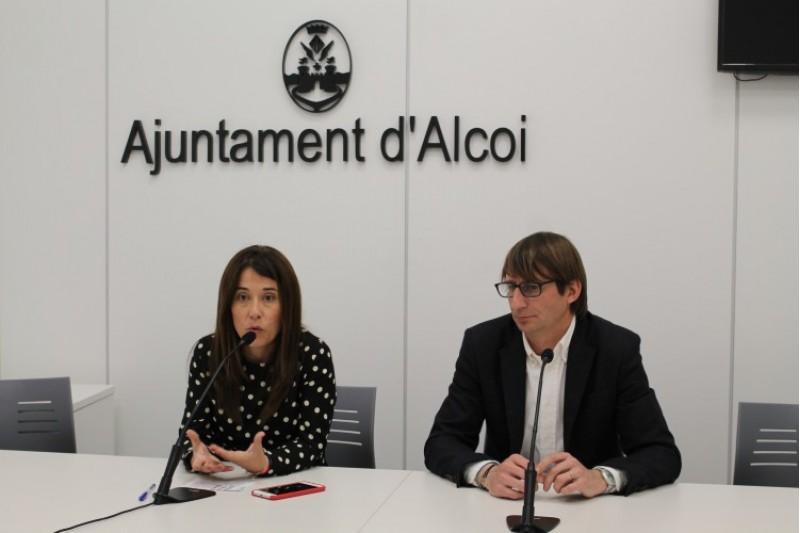Alcoi, una ciutat més sostenible amb la col·laboració de l'empresa Up2Parking / Ajunt. Alcoi