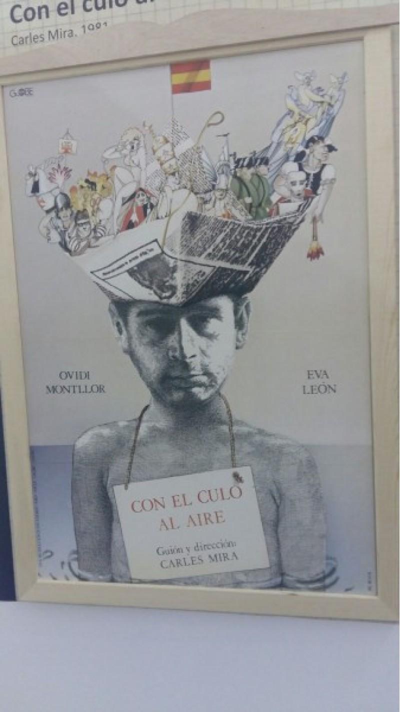 Un cartell de l'expo