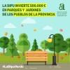 Alfafara, Beniarrés i Gorga rebran 60.000 euros per a millorar les zones verdes