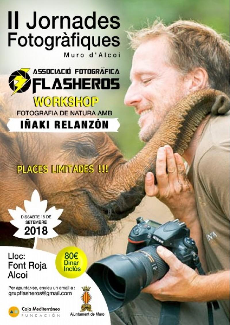 Aprén a fotografiar la naturalesa de la Font Roja amb el famós fotògraf Iñaki Relanzón