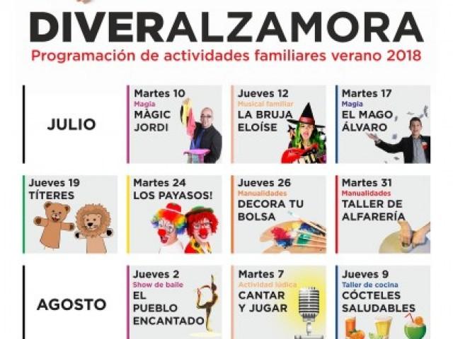 Activitats juliol i agost/Centre Comercial Alzamora