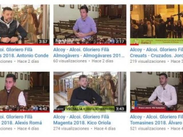 Aquests són els 10 primers gloriers i glorieres d'Alcoi