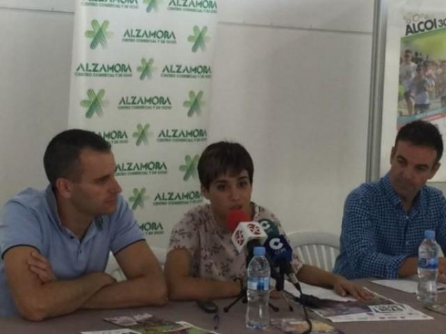 Alberto Belda, Maria Baca i Javier López Bustos / CC Alzamora