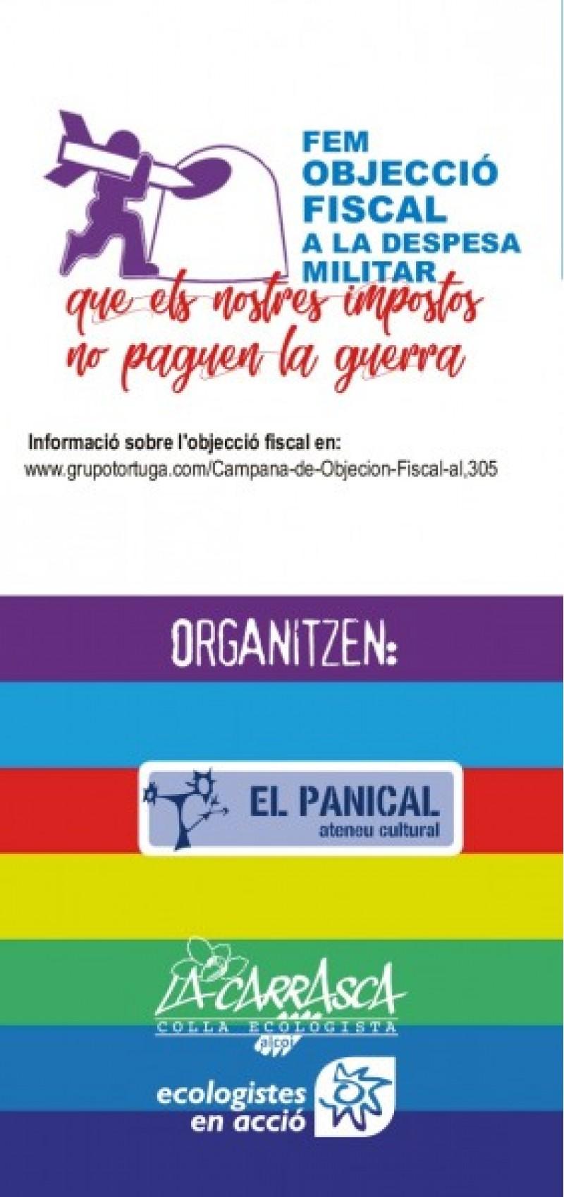 Arriba una nova edició del cicle 'Primavera per la Pau' amb un concert d'Esteve Ferre en L'Ateneu Cultural El Panical d'Alcoi