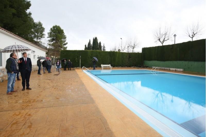 Millores a la piscina Municipal de Benillup / Diputació