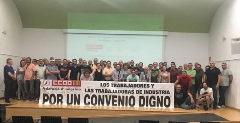 Assemblea a Cocentaina / CCOO Comarques Centrals