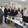 Visita a les noves instal·lacions de Caixa Ontinyent en el dia de la inauguració