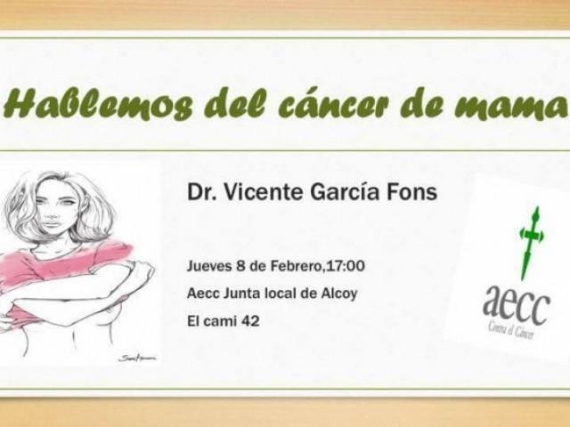 Celebració del dia mundial del càncer amb una xerrada en l'AECC d'Alcoi / AECC