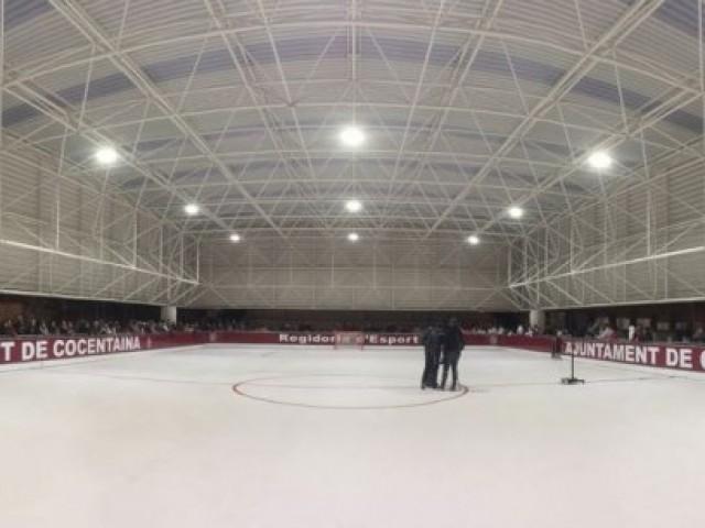 Inauguració de la pista coberta a Cocentaina / R. Lledó