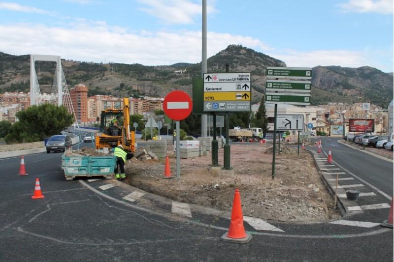 Obres a les illetes / Ajuntament d'Alcoi