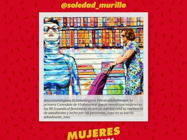 #Comoninguna, La Española e Imaginarte llancen una campanya per a visibilitzar a les dones