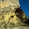 Imatge del despreniment al Castell de Barxell oferida per Compromís