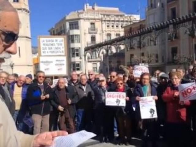 Una de les concentracions a la Plaça d'Espanya / AM