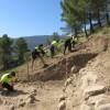 Coneix el jaciment medieval del Castellar en l'inici de la tercera campanya d'excavacions / Ajunt.Alcoi
