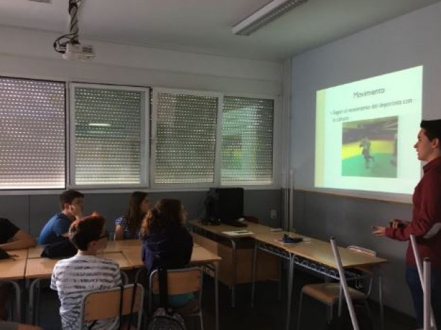 ARAMULTIMÈDIA ha impartit un taller sobre fotografia esportiva