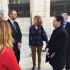 L'exministra Cristina Garmendia en la seua visita a Alcoi