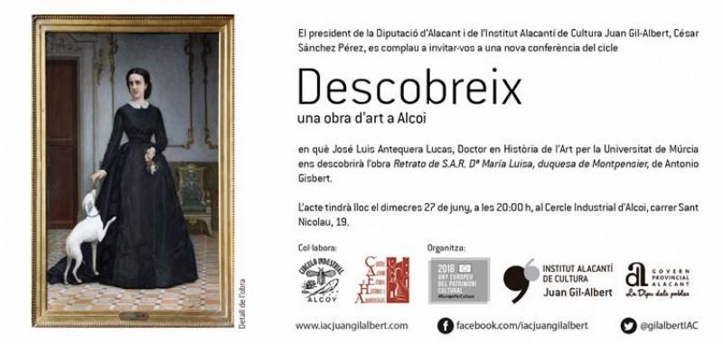 DESCOBREIX una obra d'Art del pintor alcoià Antonio Girbert
