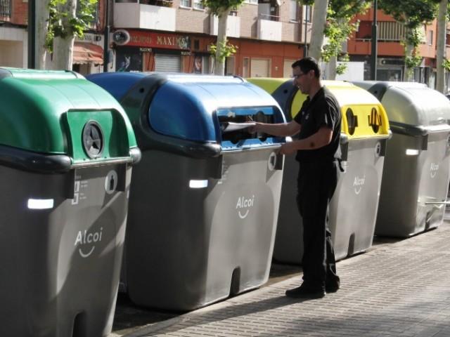 Durant el mes de juliol es renovaran tots els contenidors d'Alcoi / Ajunt Alcoi