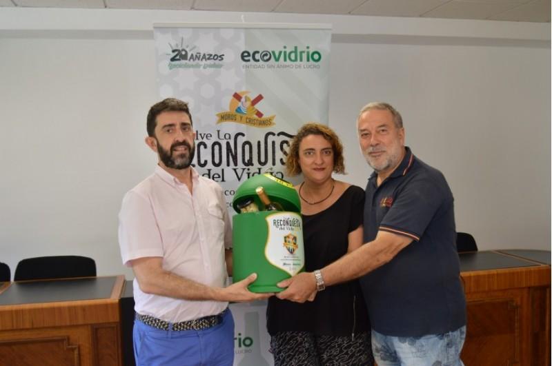 Durant les festes de Moros i Cristians de Muro d'Alcoi reciclen més de 56.000 envasos de vidre /Ecovidrio