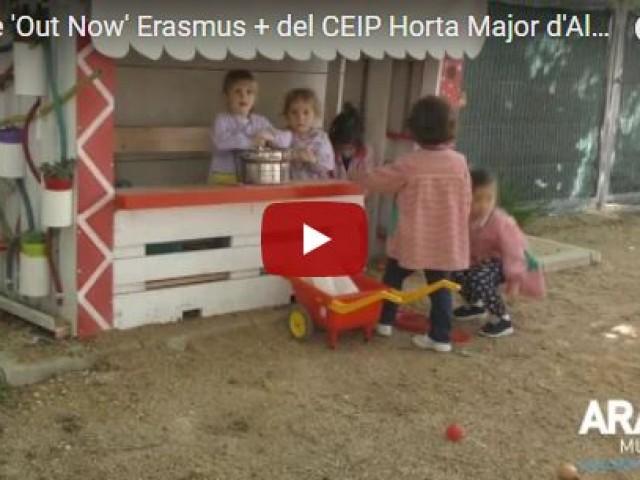 El CEIP Horta Major participa en el projecte europeu 'Out Now'