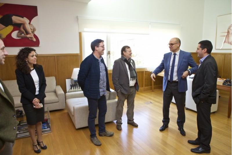 Conveni sobre el futur Campus de la UA a Alcoi / UA