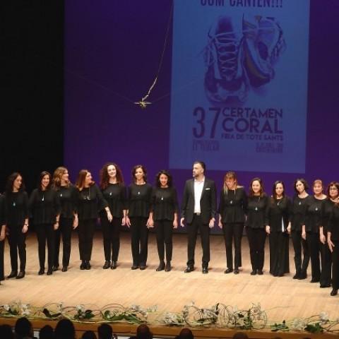 El Certamen Coral Fira de Tots Sants de Cocentaina proclama guanyador al Coro Femení Alaia Ensemble de Madrid / Silvia Bot