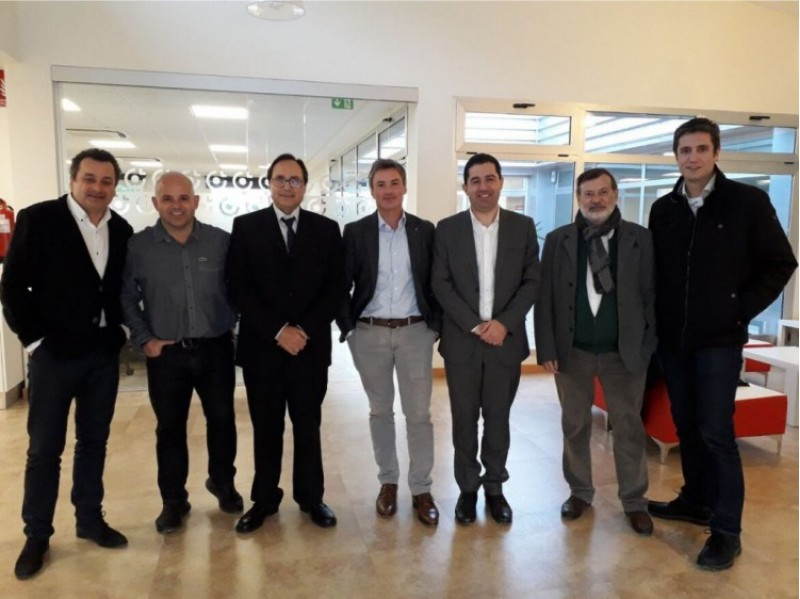 El Conseller d'Hisenda de la Generalitat Valenciana, visita l'empresa alcoiana, adSalsa /  adSalsa