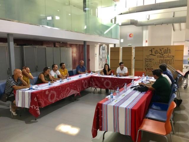 Un moment de la reunió / Consorci de les Comarques Centrals