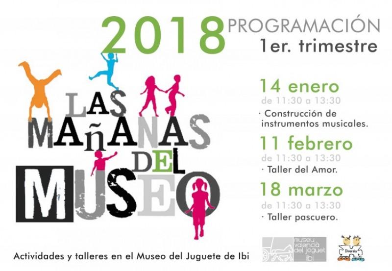 El Museu del Joguet d'Ibi inicia l'any amb 'Las Mañanas del Museo' / Cartell