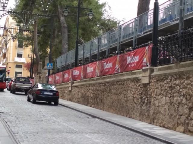 Imatge de la pancarta publicitària / PP Alcoi