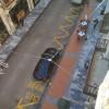 Lloc on actualment està l'aparcament de vehicles oficials de l'Ajuntament d'Alcoi / PP
