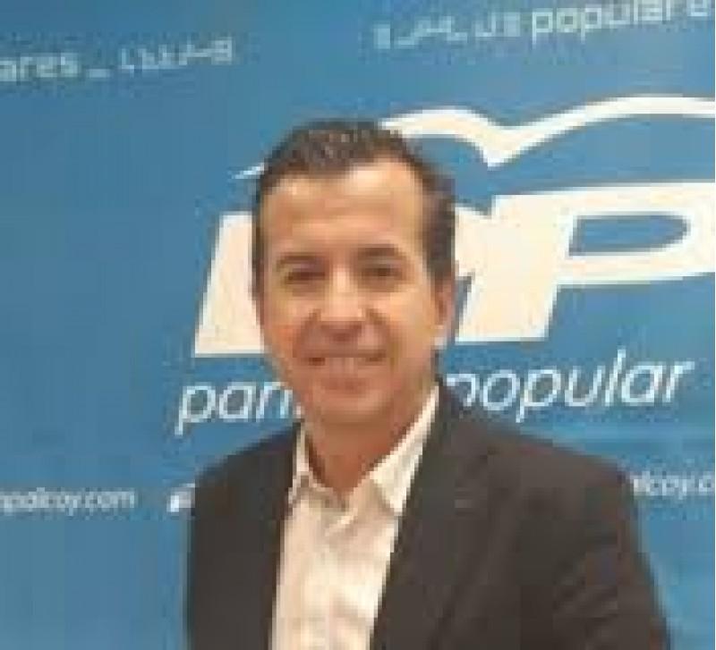 El portaveu dels populars alcioans, Rafa Miró
