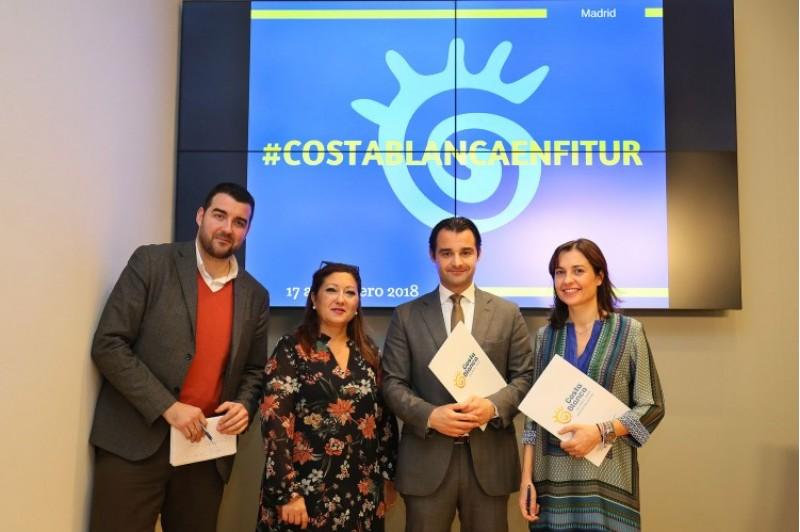 Roda de premsa de la presentació de Costa Blanca en FITUR / Patronat Costa Blanca