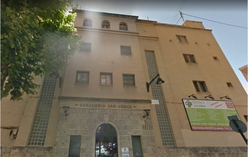 El sanatori Sant Jordi, al carrer Oliver, ha estat adquirit per IMED Hospitales