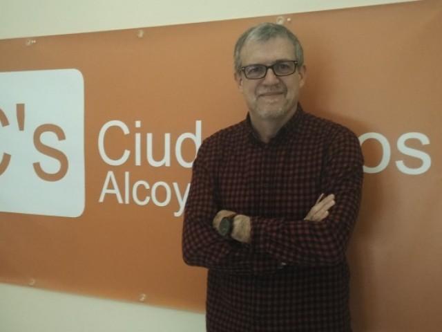 Jordi Sedano, portaveu de Ciutadans a Alcoi